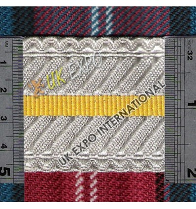 Silver and Yellow bar in Center
