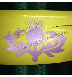 Thistle Reflected Sticker