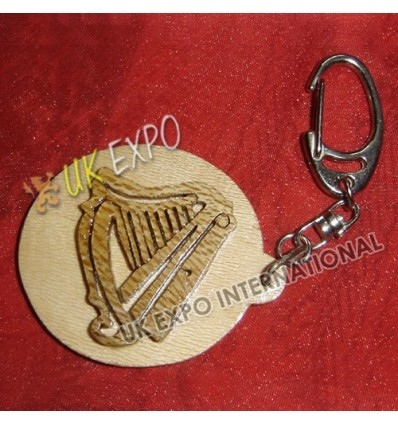 Thistle Wooden Key Chian