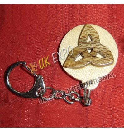 Thistle Wooden Key Chian