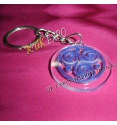 Celtic Knot Plastic Key Chian