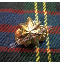 German Civil War Brass Hat Badges