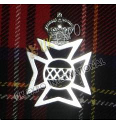 German Civil War Brass Hat Badges