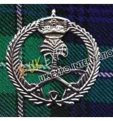 Malaysia Metal Badge