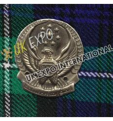 Al-Kuwait Metal Badge
