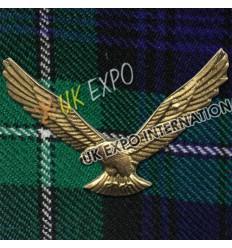 American Eagle Metal Badge