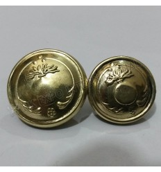 French Gernade Buttons Brass 18mm and 22mmKing Gold Buttons