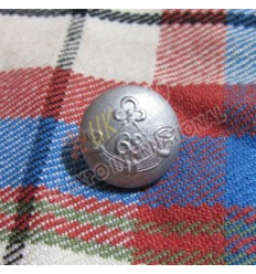 68th Bugle Button Dull Finish 2 Part Button