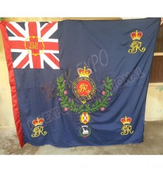 42nd regimental King Color Flag Double-Single Side Embroidery UK EXPO INTERNATIONAL