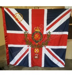 73rd Regiment of Foot Highland Large Hand Embroidery Flag GR RMV LXXII REG