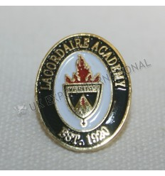 EST.1920 LACORDAIRE ACADEMY Brass Enamel Pin