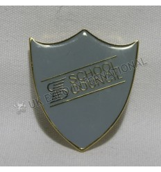 School Council Metal Badge