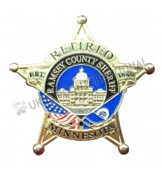 Retired Minnesota Badge