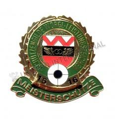 MEISTERSCHUTZE Enamel Badge