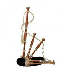 Sheesham Wood Bagpipe with Lock Case