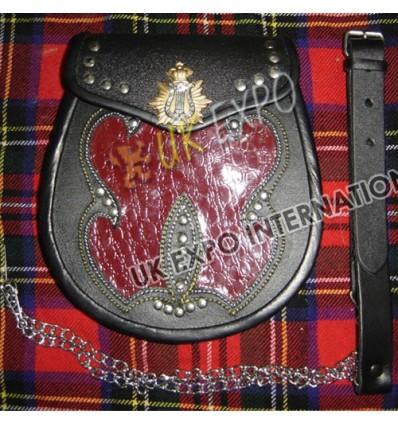 Irish Gold harp Badge of Flap