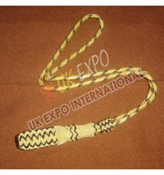 Officer Sword knot Golden Bullion With Gold Braid