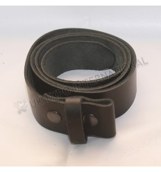 Real leather Belt with snaps 1.5 inches