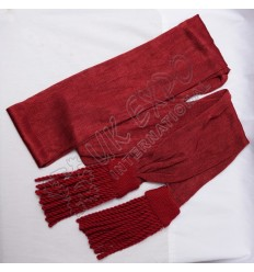Red Color Silk Shah