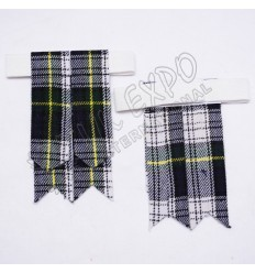 Dress Gordan Tartan Kilt Flashes