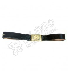US Issue Sword Belt Black Leather