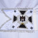 Double Embroidery with Double Cloth Flag