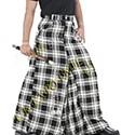 Mens Fashion Long kilts Tartan